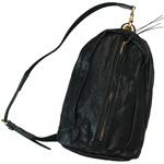 ANNAK(アナック) ウォッシュドレザー ワンショルダーバッグ ブラック [AK11TA-A0007-BLK]