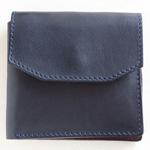 ANNAK(アナック) 栃木レザーコンパクト2つ折りオールレザーウォレット ネイビー[AK16TA-B0054-NVY] 2つ折り財布 レザーウォレット 革財布 革製品 革小物