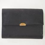 ANNAK(アナック) プエブロ3つ折りウォレット ブラック [AK17TA-B0060-BLK] 長財布 レザーウォレット 革財布 革製品 革小物