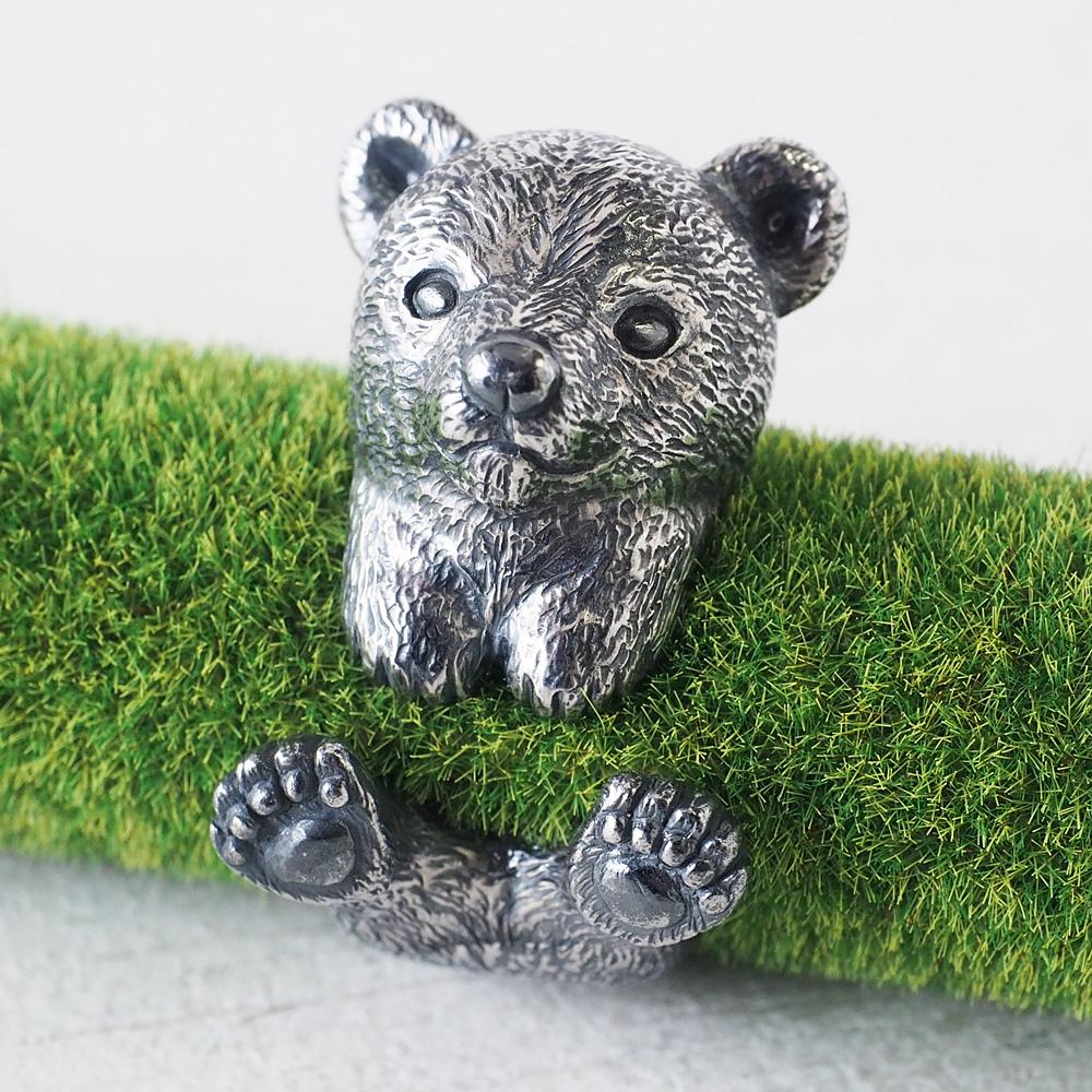 銀工房AramaRoots(アラマルーツ) 子熊リング シルバー [AR85]