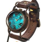 "ARKRAFT(アークラフト) 新木秀和 手作り腕時計 クオーツ ""PATRICE OCEAN"" [AR-C-001]"