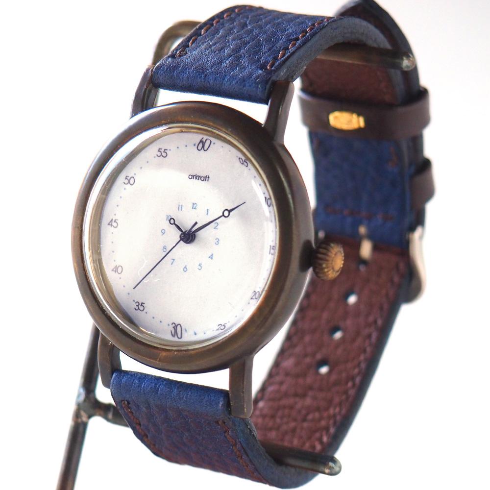 """ARKRAFT(アークラフト) 時計作家・新木秀和 手作り腕時計 """"Alton Large""""アントン・ラージ[AR-C-007]"""