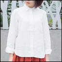 rolca on the notes(ロルカ オン ザ ノーツ) フレンチリネンロールアップシャツ  メンズ・レディース[RO-1230]