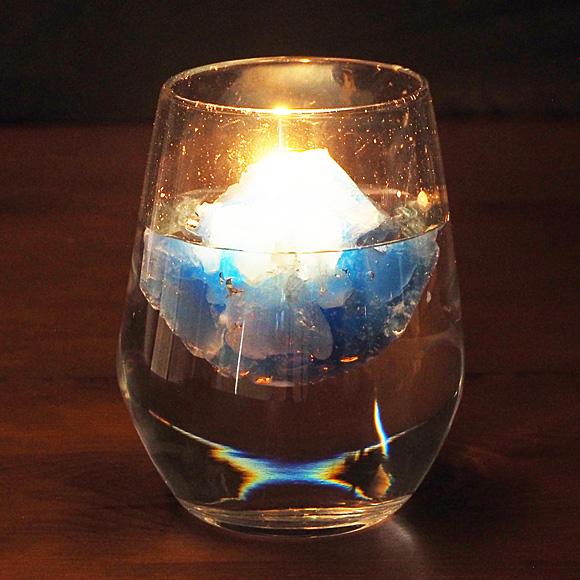 "biancabianca(ビアンカビアンカ) キャンドル作家・秋澤真衣子 手作りキャンドル ""Icelandic Candle"" アイスランディックキャンドル [BI-CAN-ICE1]"