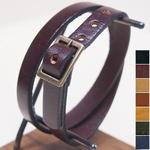 """cota(コタ)手作り腕時計""""Double bracelet -二重巻き替えベルト-""""[B1-2]"""