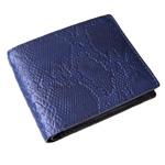 達磨(だるま)BAMBOO 藍染ショートウォレット 錦蛇 [DB0002-08]