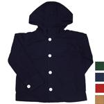 【4色から選べます】DEEP BLUE(ディープブルー) 馬布製品染めフードジャケット [72200]