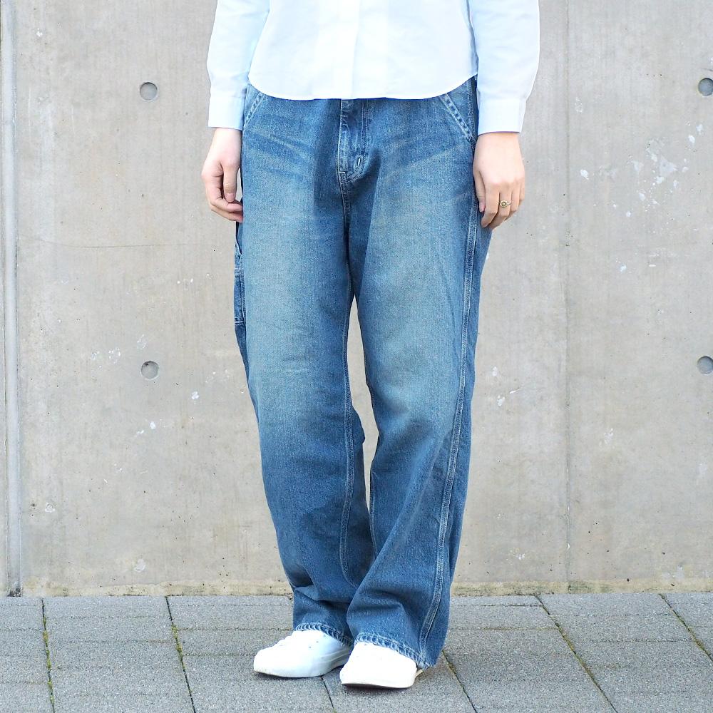 DEEP BLUE(ディープブルー) 11.5オンス 甘織デニム ビッグペインターパンツ ライトインディゴ [72801-LI]