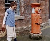 商品の着用例は、京都のオススメスポットで、かつ商品の雰囲気に合ったところを選んで撮影したりしています