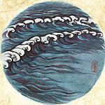 絵師 冬奇 絵画作品 連作『メールストロムの旋渦』 No.3 —予兆—