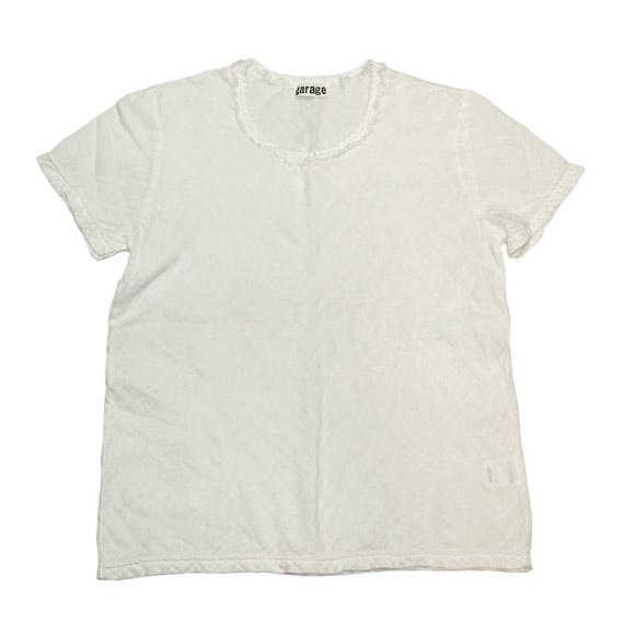 ガーゼ服工房 garage(ガラージ) ダブルガーゼ シンプルTシャツ 半袖 レディース [TS-53-SS]
