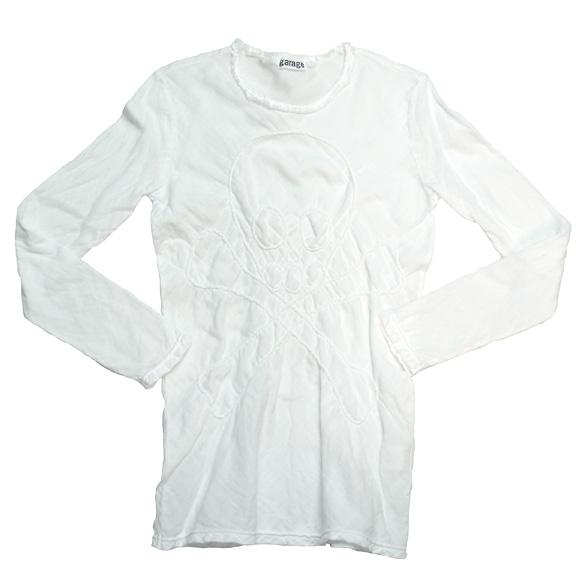 ガーゼ服工房 garage(ガラージ)ダブルガーゼ シンプルTシャツ 半袖 レディース [TS-53-SS]