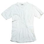 ガーゼ服工房 garage(ガラージ) ダブルガーゼ Vネック前開きTシャツ 七部袖 メンズ [TS-45-7S]