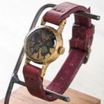 Gothic Laboratory(ゴシックラボラトリー) 手作り腕時計 青い蝶の腕時計 SSサイズ [GL-CW-bb-SS]
