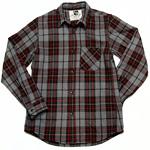 【2色から選べます!】graphzero(グラフゼロ) アスペロ綿へリンボン ヘビーネルシャツ [GZ-HB-HVN]