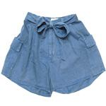 graphzero(グラフゼロ)プラチナオーガニックコットン ショートパンツ 本藍染め [GZ-La-PT02-AI]
