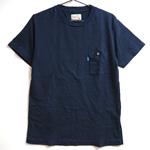 graphzero(グラフゼロ)インディゴクルーネックTシャツ メンズ・レディース [GZ-T13-ID]