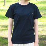 graphzero(グラフゼロ)インディゴクルーネックTシャツ メンズ・レディース [GZ-TC13-ID]
