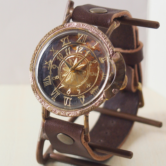ipsilon(イプシロン) 時計作家 ヤマダヨウコ 手作り腕時計  compasso Jumbo(コンパッソ ジャンボ) メンズ・レディース [compasso-J]