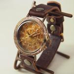 ipsilon(イプシロン) 時計作家 ヤマダヨウコ 手作り腕時計 compasso (コンパッソ)メンズ・レディース [compasso-M]