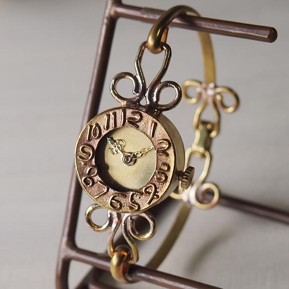 ipsilon(イプシロン) 時計作家 ヤマダヨウコ 手作り腕時計  fiore(フィオーレ) レディース [fiore-G]