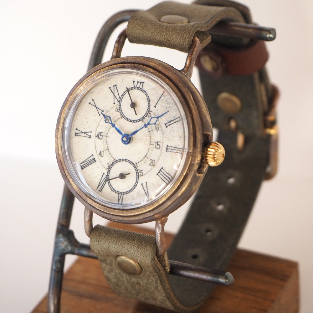 ipsilon(イプシロン)時計作家 ヤマダヨウコ 手作り腕時計 iceberg24(アイスバーグ) [iceberg24]