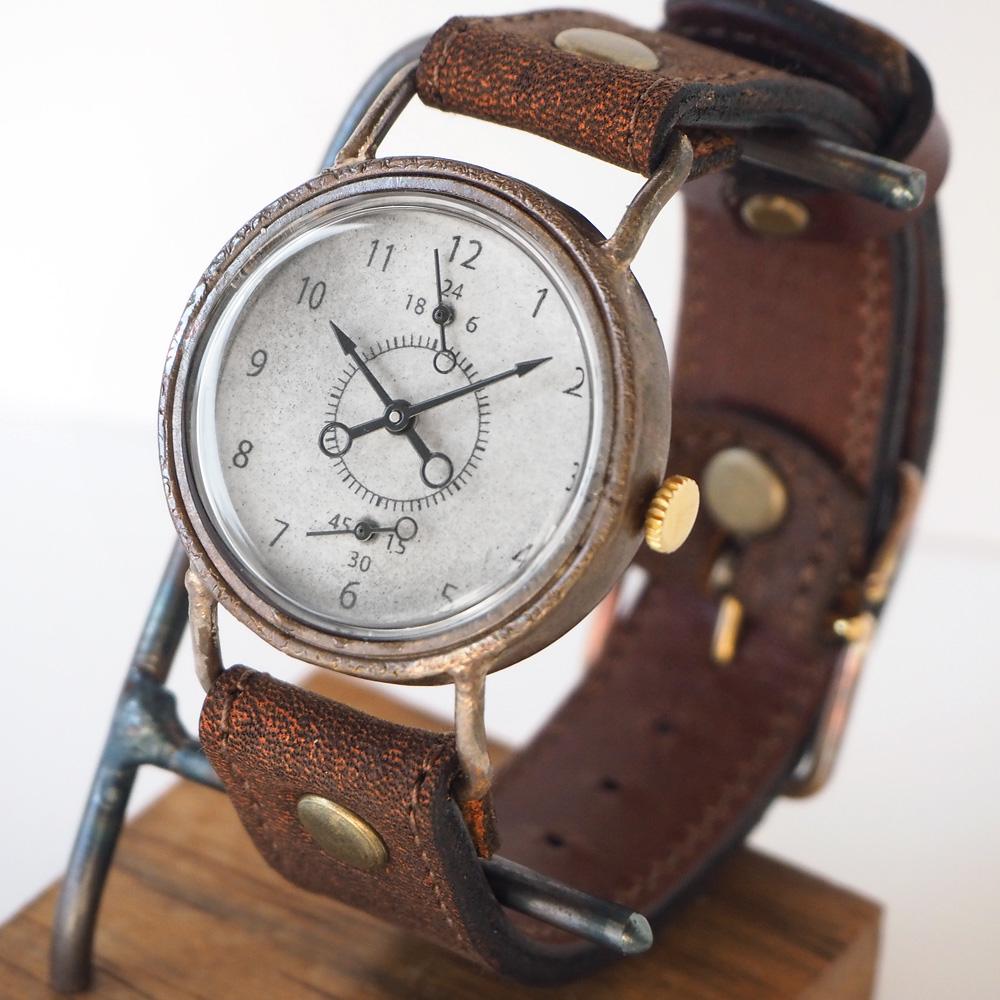 ipsilon(イプシロン) 時計作家 ヤマダヨウコ 手作り腕時計 Manhole 24h(マンホール) [manhole24h]