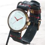 ipsilon(イプシロン) 時計作家 ヤマダヨウコ 手作り腕時計 seta Jumbo(セータ ジャンボ) 白文字盤 [seta-J-WH]