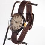"JOIE INFINIE DESIGN(ジョイ アンフィニィ デザイン)手作り腕時計""NEUTRAL〜boy's −ニュートラル・ボーイズ−""イタリアンレザーベルト [D-10500]"