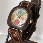 "JOIE INFINIE DESIGN(ジョイ アンフィニィ デザイン)手作り腕時計""LOMObp -ロモ bp-""[D-5930]"