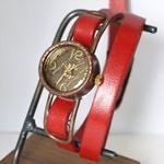"JOIE INFINIE DESIGN(ジョイ アンフィニィ デザイン)手作り腕時計""WIZARD -ウィザード-""レディス [D-5932]"