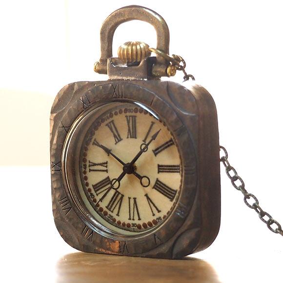"JOIE INFINIE DESIGN(ジョイ アンフィニィ デザイン)手作り懐中時計""KIKI""[D-6155]"