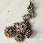 JOIE INFINIE DESIGN(ジョイ アンフィニィ デザイン)手作りアクセサリー ネックレス [H-001]
