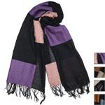 【4色から選べます】工房織座 ウール×コットン かさね杢糸 羽織りショール [ORI-KSM]