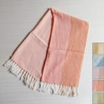 【5色から選べます】工房織座 コットン100% 彩sai ミニスカーフ [ORI-SA-S]