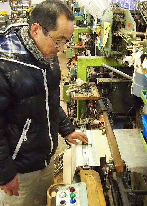 工房織座代表 武田正利さんプロフィール