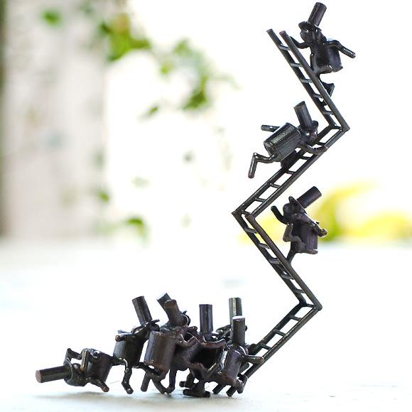 ブロンズ造形作家・コイズミタダシ コビトのオブジェ 「幸せドリーマー」 [KO-OB-01]
