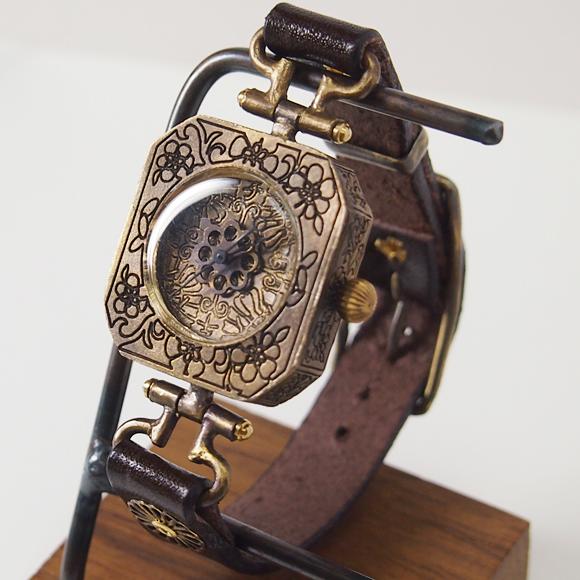 KS(ケーエス) 篠原康治 手作り腕時計 蜉蝣(かげろう) [KS-WA-06]