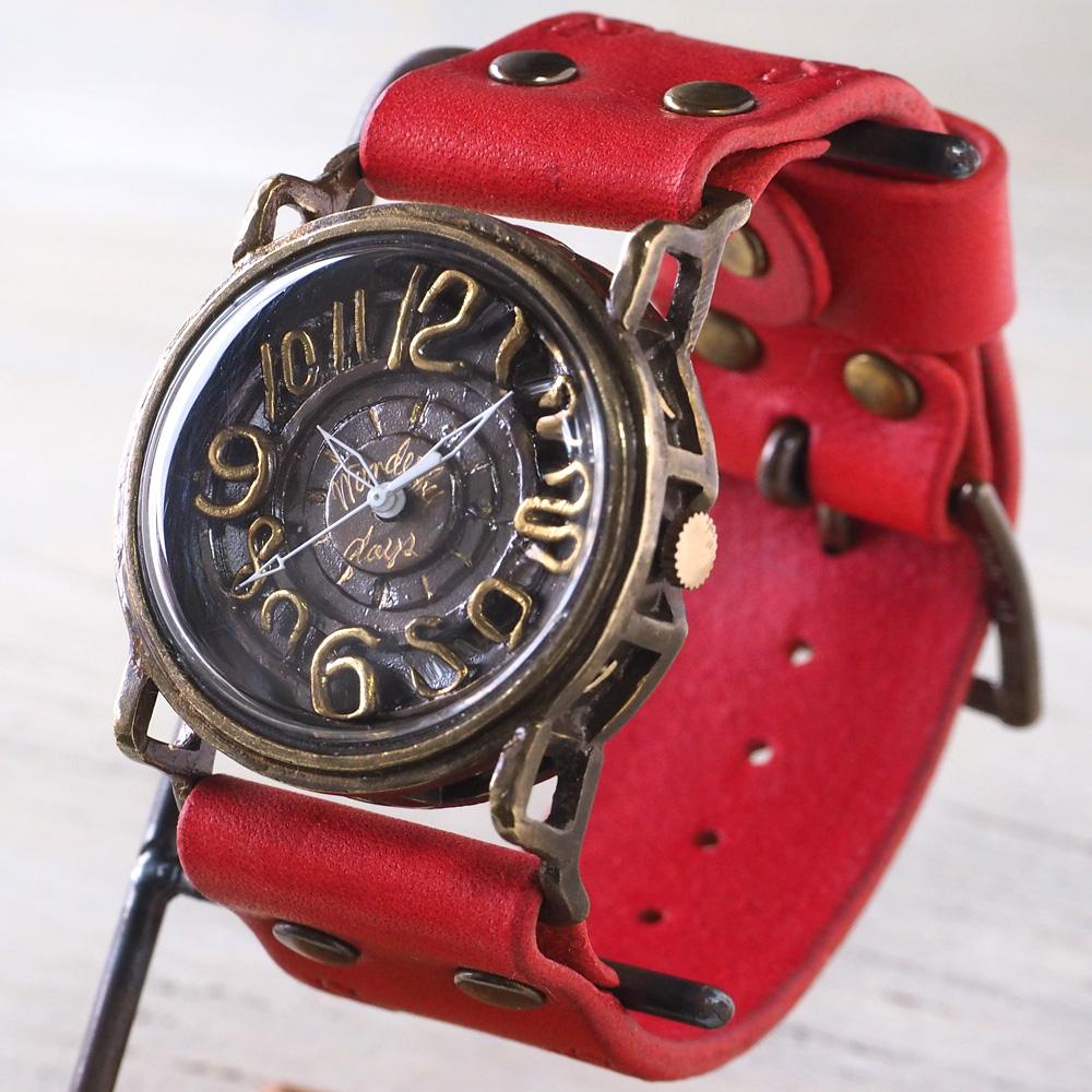 Mari Goto(マリゴトー) 手作り腕時計 手作り腕時計 〜J〜 [MG-007]