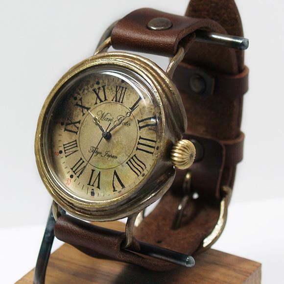 Mari Goto(マリゴトー) 手作り腕時計 Calm Lサイズ [MG-012A-L]