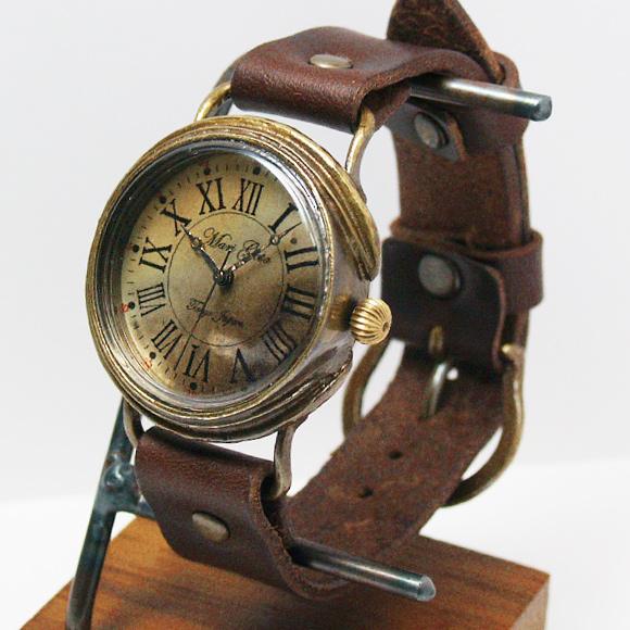 Mari Goto(マリゴトー) 手作り腕時計 Calm Mサイズ[MG-012A-M]
