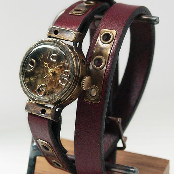 Mari Goto(マリゴトー) 手作り腕時計 Hole[MG-006]