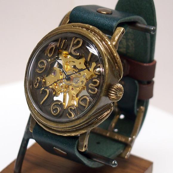 "Mari Goto(マリゴトー) 手作り機械式腕時計 裏スケルトン""dial""−ダイヤル− [MGM-01-dial]"