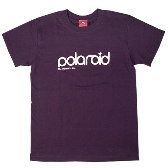 mellow out デザインTシャツ polaroid半袖 マットパープル メンズ・レディース [MO-TEE-017]