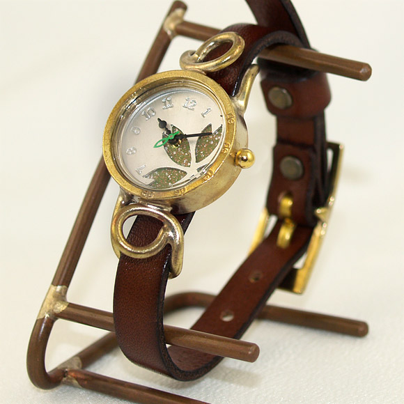 "e29363645b Metal Factory(メタルファクトリー) 手作り腕時計""dedegumo""サクラ [KomB-19"