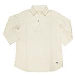 MIZRA (ミズラ) サーフウェーブカプリシャツ オフホワイト [MSS-11244-WH]