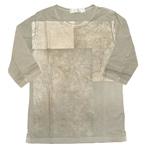 MIZRA(ミズラ) ペーパーリングTシャツ 五分袖 [MTS-11977-LS]