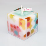 "nuri candle キャンドル作家 福間乃梨子 手作りアロマキャンドル""ドット"" [NU-PR-DOT01]"
