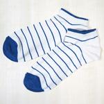 ORGANIC GARDEN(オーガニックガーデン) 藍のくつした スニーカーソックス レディース [NS8222]