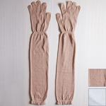 【2色から選べます】 ORGANIC GARDEN(オーガニックガーデン) UVケア ロング手袋 レディース[NS8802]